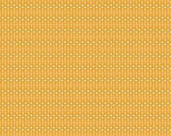 SALE | Lancelot - Mustard Geo Fabric - Citrus & Mint - Riley Blake Designs - Sold by the Yard