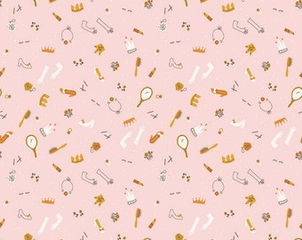 SALE | Guinevere - Pink Dress Up Fabric - Citrus & Mint - Riley Blake Designs - Sold by the Yard