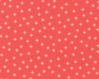 Harper's Garden Fabric - Red Diamonds Fabric - Sherri & Chelsi