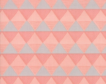 Twilight Fabric - Coral Triangles Fabric - One Canoe Two