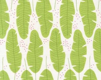 Fat Quarter   Fern Leaf Fabric - Everglades Fabric - Betsy Siber