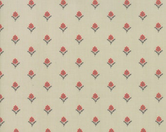 FAT QUARTER | 101 Maple Street Fabric - Green Farmhouse Fleur Fabric - Bunny Hill Designs - Moda Fabric - Fall Fabric - Autumn Fabric