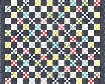 """Secret Keeper Quilt Pattern - April Rosenthal - Prairie Grass Patterns - Moda Fabrics - Quilt Pattern - 70"""" x 86"""" quilt"""