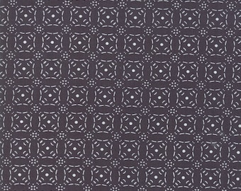 Little Tree Fabric - Black Geometric Fabric - Lella Boutique - Moda Fabrics - Christmas Fabric - Holiday Fabric - Sold by the Yard
