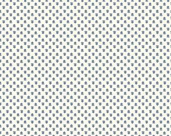 Gretel Fabric - Denim Daisy Fabric - Amy Smart - Riley Blake Designs - Hansel & Gretel Fabric - Floral Fabric - Sold by the Yard