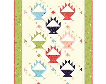 MINI Berry Baskets Quilt Pattern - Sherri McConnell