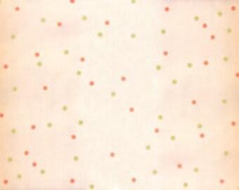 Ombre Confetti Fabric - Coral Ombre Metallic Fabric - V and Co. - Moda Fabrics - Ombre Fabric - Coral Ombre Fabric - Sold by Half Yard