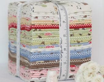 Cottontail Cottage Fat Quarter Bundle - Bunny Hill Designs - Moda Fabric - Fabric Bundle - Nursery Fabric - 30 pieces
