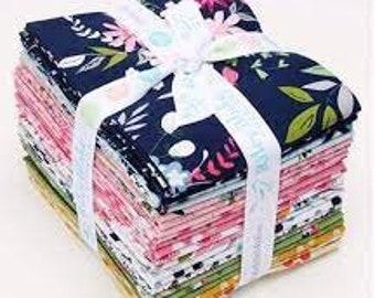 In the Meadow Fat Quarter Bundle - Keera Job - Riley Blake Designs - Fabric Bundle - Fat Quarter Fabric Bundle - 21 pieces