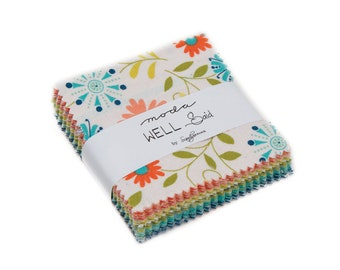 Well Said Mini Charm Pack - Sandy Gervais - 42 pieces