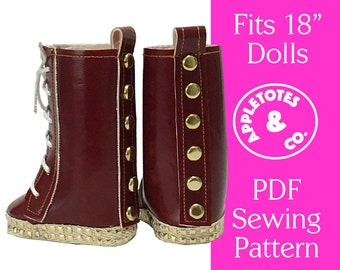 7bcb16b407676 18 inch doll boots | Etsy