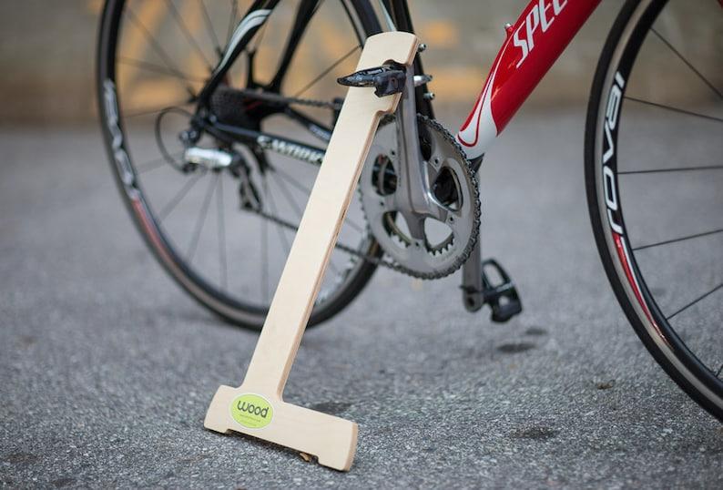 Wood Bike Stand image 0