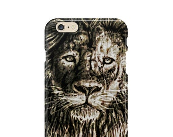 Lion iPhone Cases | 6, 6s, 6 Plus, 6s Plus, 7, 7 Plus, 8, 8 Plus,X