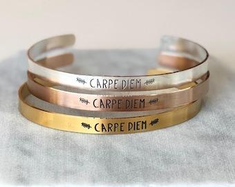 2ed7a6502ec Carpe Diem Cuff Bracelet