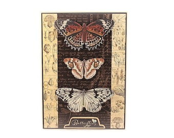 Butterfly Any Occasion Card, All Occasion, Botanical, Butterfly Specimen, Card For Friend, Mother, Daughter, Sister, Coworker, Boss, Elegant