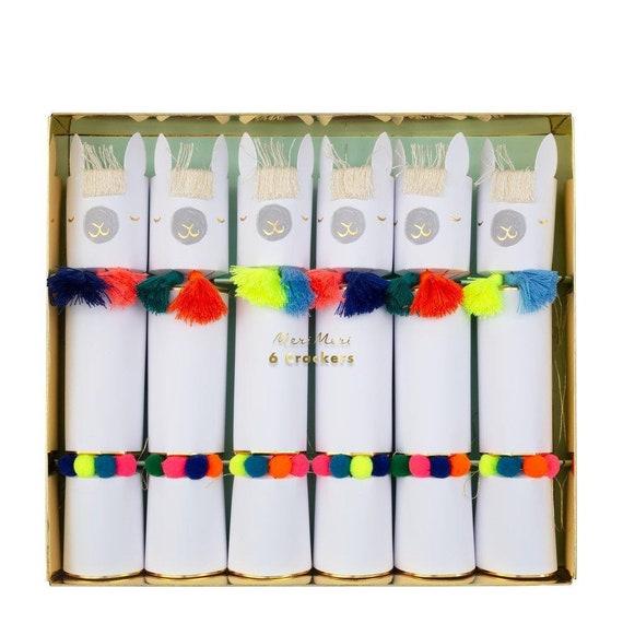 Llama Christmas Stocking.Festive Llama Party Crackers Kids Christmas Ideas Jolly