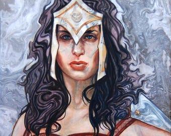 Wonder Woman: Amazon Princess 13x19 Limited Edition Print Justice League