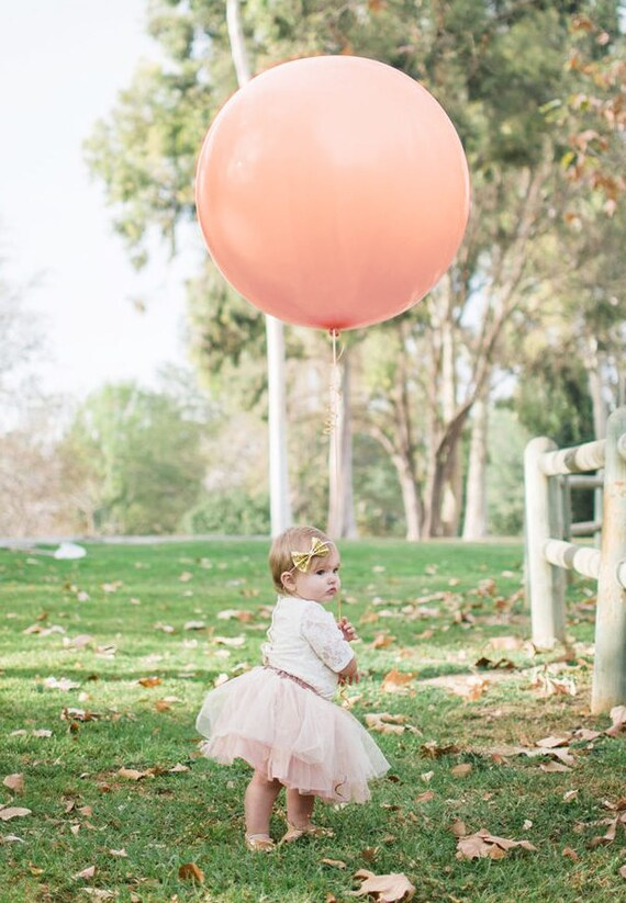 "Qualatex 36/"" Pink Large Round Balloon Wedding Party Decor prop"