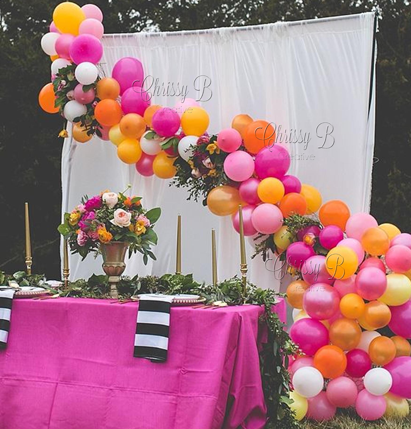 zoom Balloon Garland DIY Kit Kate Spade