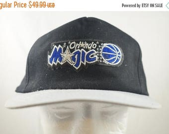 Rad 1990s Orlando Magic Snapback Hat TRUE Vintage Cap Great Condition  Shaquille O Neal Shaq Attack Era af6a66ba8e49