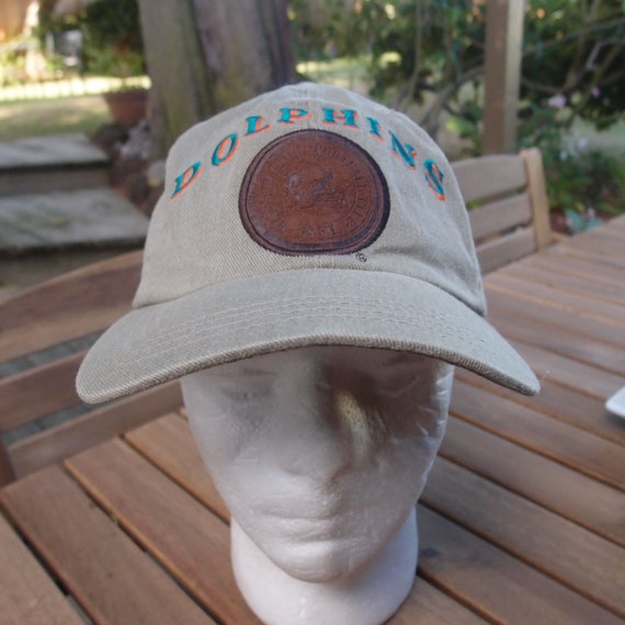 a4522a1d53b True Vintage Miami Dolphins Lee Jeans Levis NFL Strapback Dad