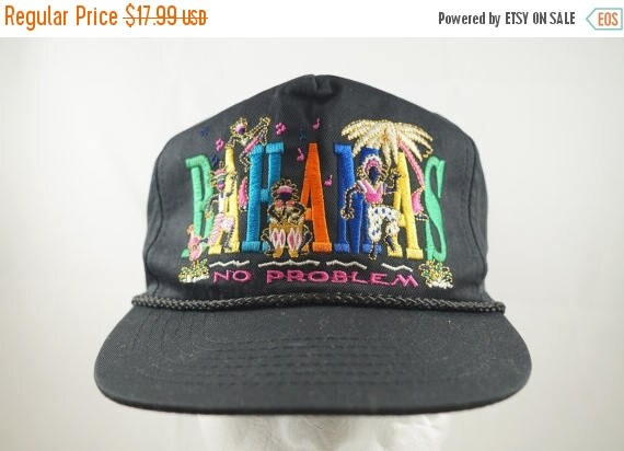 Tropical Vintage BAHAMAS No Problem Deadstock  4d0a401e3bb