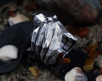 OCTOPUS RING- Sterling Silver- VvILK