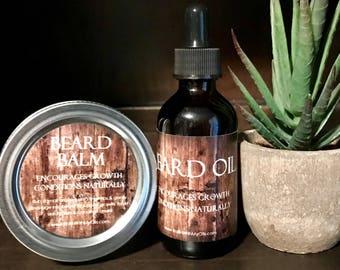 Beard Balm & Beard Oil - Essential Oil Blends