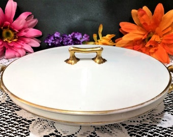Marlborough Grindley Covered Casserole dish made in England