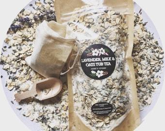 Lavender, Milk & Oats Tub Tea