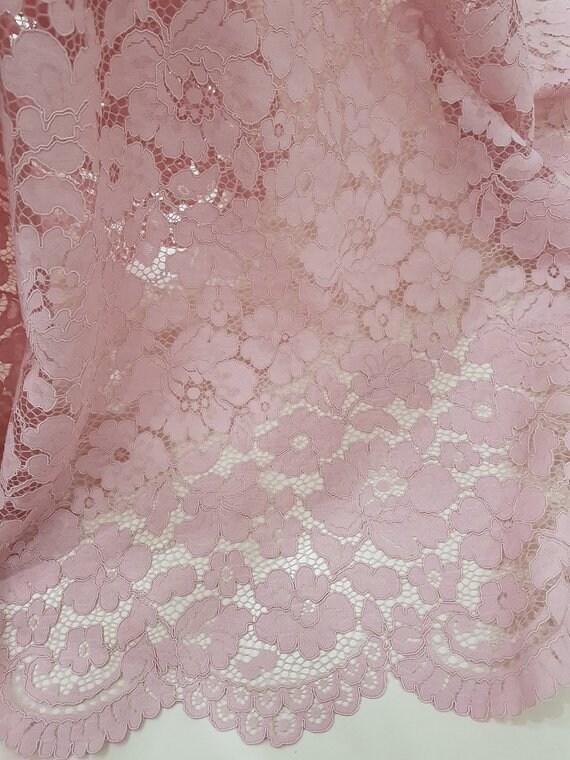 VENTE lumière violet/lilas tissu Français de dentelle, dentelle dentelle d'Alençon, dentelle dentelle mariage, dentelle de mariée, robe de soirée en dentelle, dentelle de Lingerie, tissu LL19901 e9068e