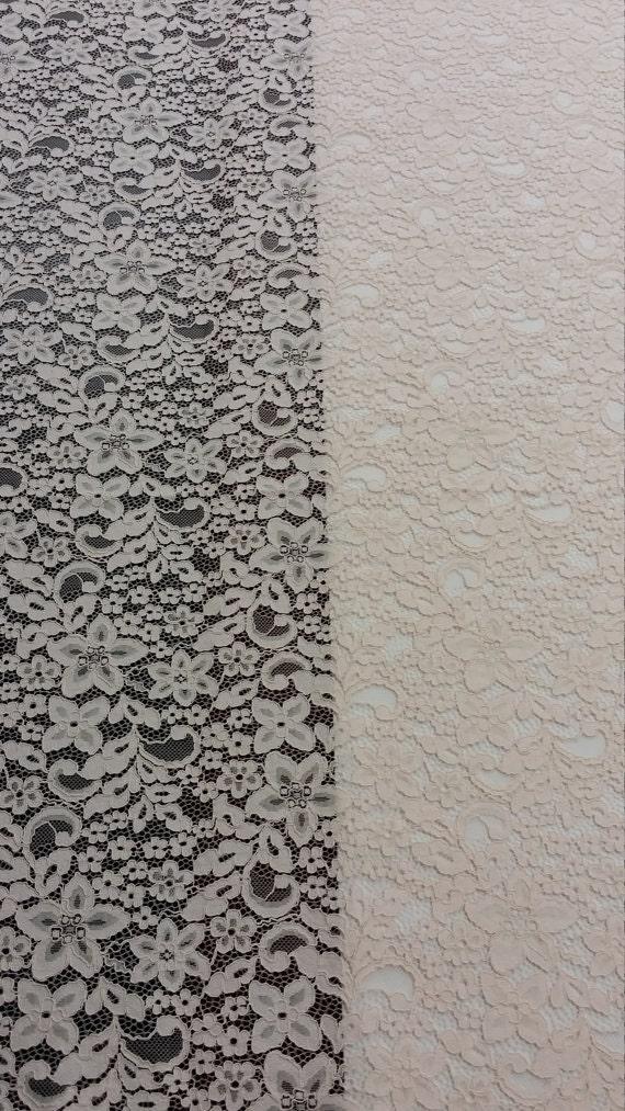 Tissu dentelle Rose saumon vente par yard, France dentelle, dentelle dentelle Alencon mariée, mariage dentelle dentelle, broderie de dentelle robe de soirée dentelle Lingerie L71911 2c187b
