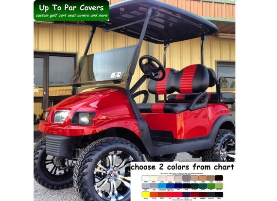 Red Golf Cart Vinyl Seat Covers on golf cart bucket seats, ebay golf cart covers, ezgo seat covers, automotive vinyl seat covers, dodge vinyl seat covers, vinyl car seat covers, jeep vinyl seat covers, club car seat covers, ez go txt top covers, custom golf cart covers, boat vinyl seat covers, sunbrella golf cart storage covers, truck vinyl seat covers, golf cart vinyl decals,
