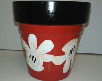 Mickey Hands inspired Pot