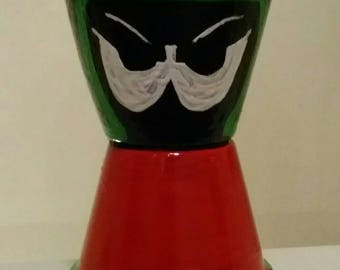Marvin the Martian inspired Pot