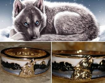 Amarok Wolf Pups Companion pendulum necklace