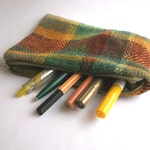 Reserved for Alice, pencil hand-woven
