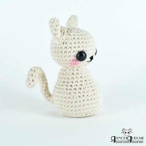 Gato amigurumi gatitos patrón amigurumi patrón crochet | Etsy