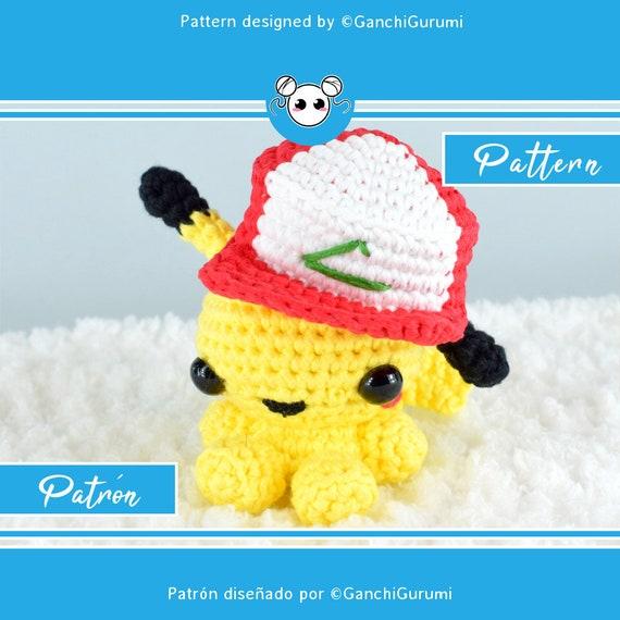 LORAINE AMIGURUMIS - Paso a paso para tejer al crochet a Pikachu | 570x570