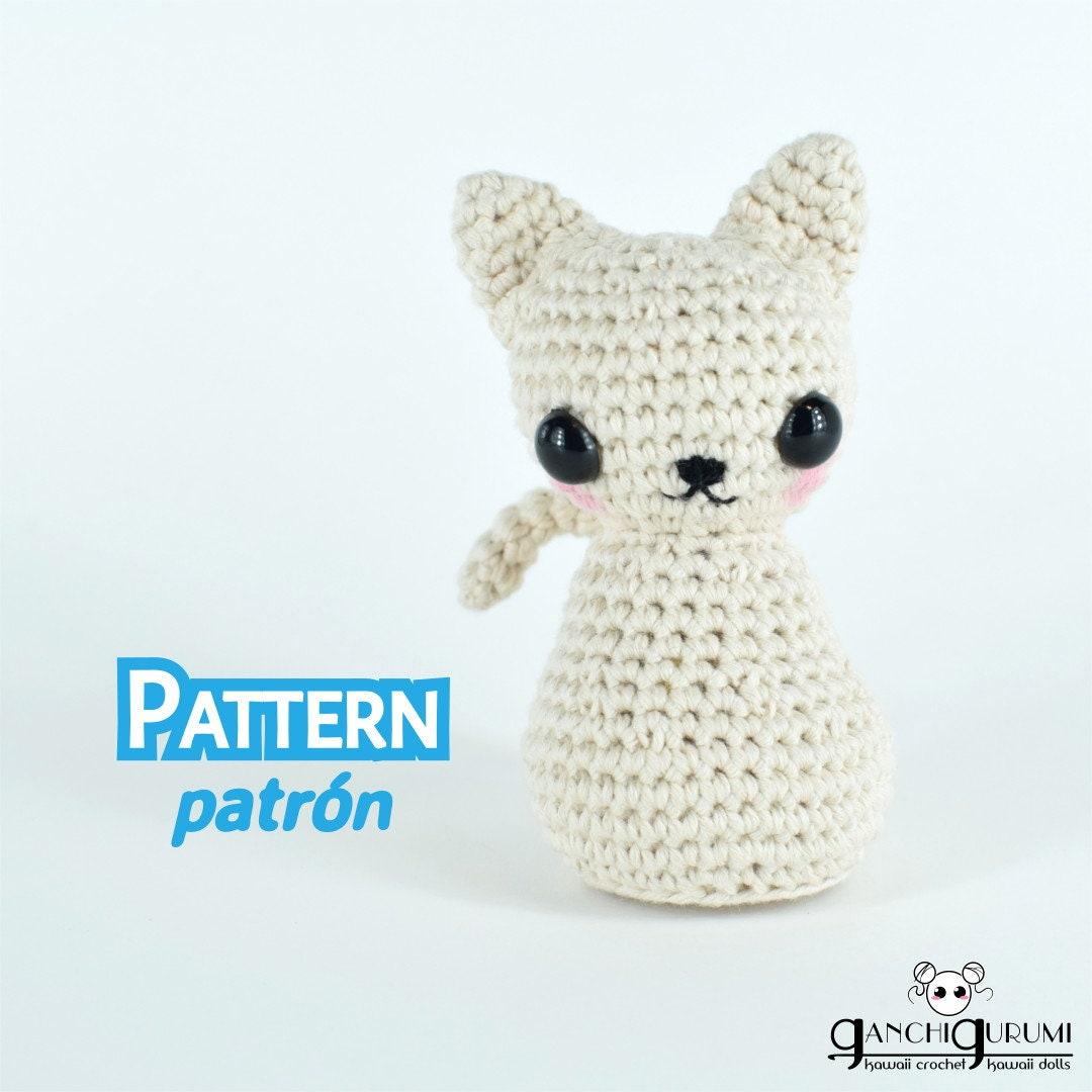 Perfecto Hola Patrón De La Cara Gatito Crochet Colección - Manta de ...