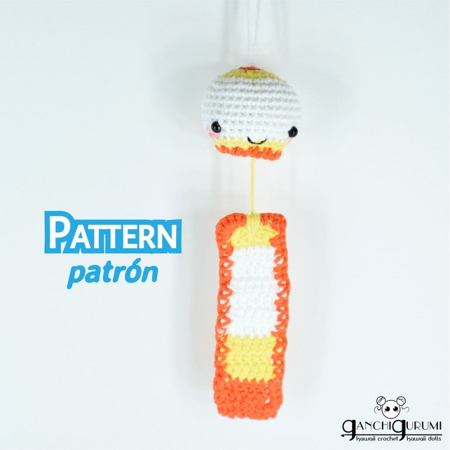 Fuurin furin campana patrón amigurumi patrón crochet | Etsy