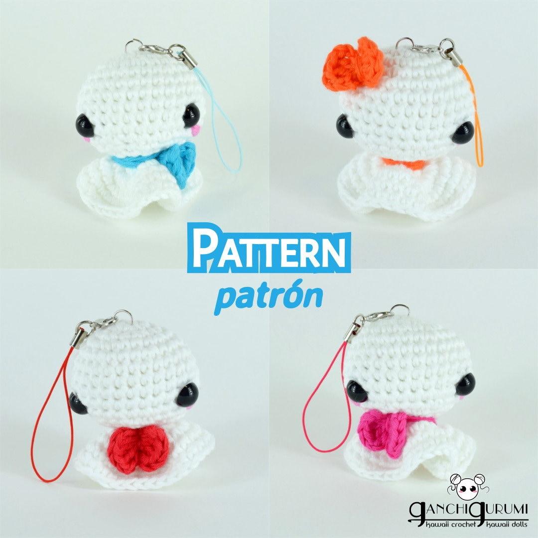 Teru teru bozu amigurumi patrón amigurumi patrón crochet | Etsy