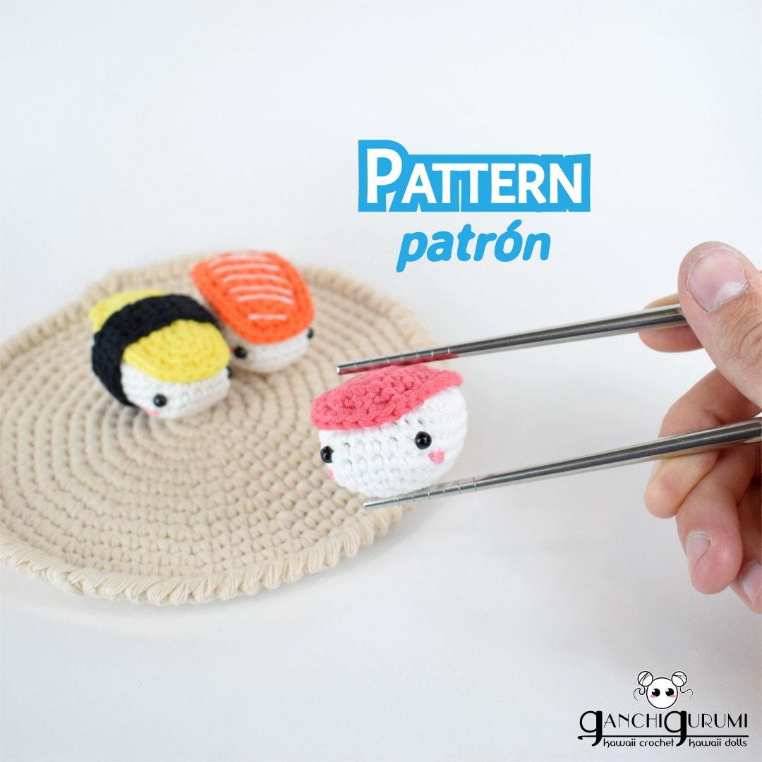 Nigiri patrón nigiri patrón sushi amigurumi patrón | Etsy