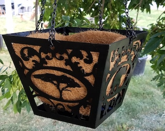 Customizable Hanging Flower Pot