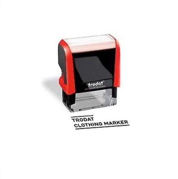 Trodat Rubber Stamp DIY Clothing Marker Kit School Uniforms You Personalise