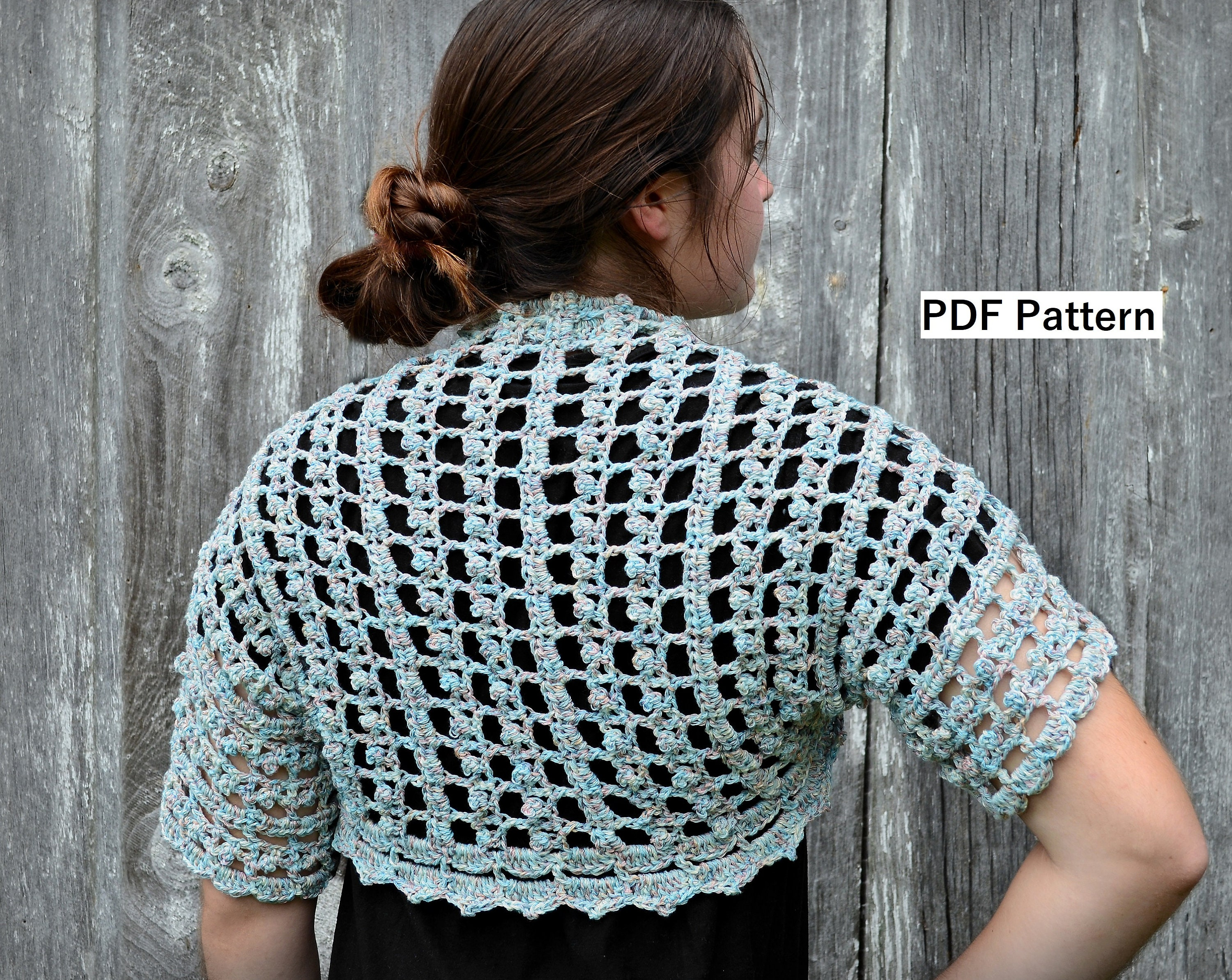 Crochet Bolero Pattern Amazing Design