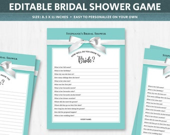 bridal shower trivia questions bridal shower question game question list bridal trivia questions turquoise printable digital download