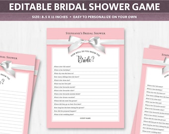 bridal shower quiz download for guests trivia questions about the bride game pop quiz wedding shower games printable list of digital