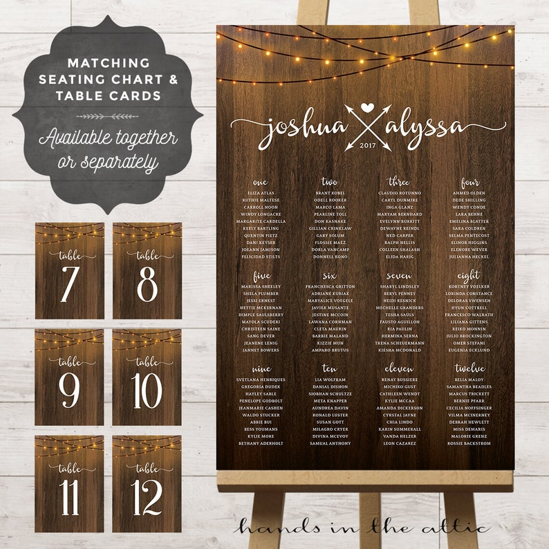 Sensational Table Assignment Board Wedding Reception Seating Chart Ideas Bridal Party Table Number Cards Fairy String Lights Poster Printable Digital Download Free Architecture Designs Crovemadebymaigaardcom