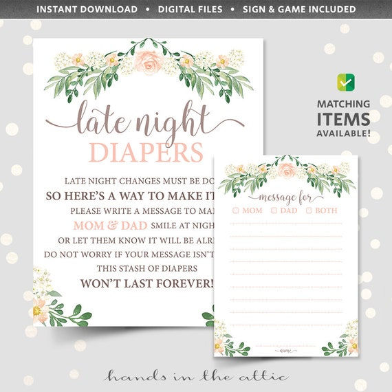 graphic regarding Late Night Diapers Printable titled Late night time diapers printable template, evening year diaper